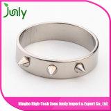 Anillo de compromiso de lujo del acero inoxidable para los anillos de bodas de los hombres