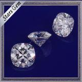 Piedras preciosas blancas bien pulidas de calidad superior de Moissanite del color de E/F para la joyería del oro