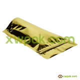 Мешок кофеего бумаги Kraft с уплотнением клапана и застежки -молнии верхним