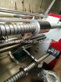 Roulis horizontal de papier d'aluminium de bâti à rouler fendant la machine de rebobinage