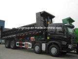 Sinotruk HOWO-A7 420HP 8X4の12荷車引きのダンプトラック
