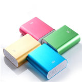 Batería recargable del banco de la energía del USB 6000mAh dos para el teléfono móvil