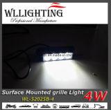 LEDのストロボの警報灯の表面の台紙