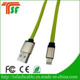 Novo carregador de cabo USB 2 em 1 para iPhone e telefone Android