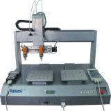 二重ヘッドデスクトップの接着剤機械/分布のロボット