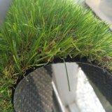 4 색깔 30mm 고품질 인공적인 잔디, 조경 잔디