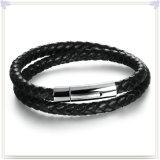De Armband van het Leer van de Juwelen van het Leer van de Juwelen van de manier (LB628)