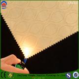 Tela de congregação opaca Flame-Resistant da cortina da proteção do poliéster do jacquard