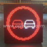 Étalage de panneau de circulation de DEL, signe de la table des messages DEL de circulation