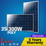 Factory Wholesale Fashionable 35W Poly statement Solar Panel