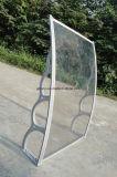 dossel resistente da porta do policarbonato do vento da profundidade de 1500mm (YY1500-H)