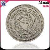 Gestempelte Größen-laufende Sport-Zink-Legierungs-Metallantike-Messingmünzen mit Decklack
