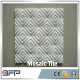 背景の壁のタイルまたは床タイルのための自然な石造りの大理石のモザイク