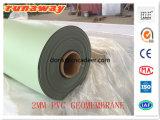 PVC Geomembrane para el agua de los proyectos ambientales