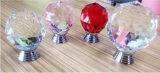 Fabrik-Preis-Kristallglas-Möbel-Fach-Küche-Schranktür-Griff-Drehknopf (CK 002)