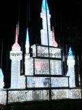 Luz de Natal do motivo do anjo 3D do diodo emissor de luz para a decoração do feriado