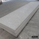 Dépliement librement de la surface solide acrylique pure de modèle de marbre
