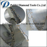 A faixa do diamante viu a lâmina para a laje de mármore do granito da estaca