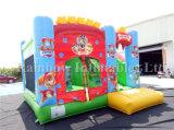 Benzina commerciale combinata, Camera gonfiabile della polizia della zampa di Iinflatable di nuovo arrivo del Bouncer del castello