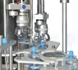 Máquina de rellenar principal doble con la máquina que capsula