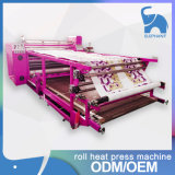 Machine de transfert de chaleur à rouleaux de sublimation à rouleaux