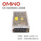 Wechselstrom Wxe-120s-5 Schaltungs-Stromversorgung CCTV-Stromversorgung zur Gleichstrom-110V/220V mit Cer RoHS