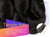 Glücks-Haar-Sprung-Wellen-Jungfrau-brasilianisches Haar Remy Menschenhaar