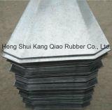 Parada de agua de la placa de acero usada en la estructura concreta reforzada