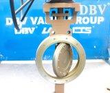 Valvola a farfalla eccentrica triplice metallo con metallo della cialda di Wcb Cl150 12 dell'attrezzo di vite senza fine ''