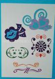 Etiquetas engomadas decorativas delicadas del tatuaje