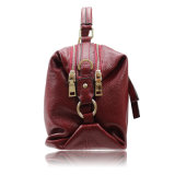Los más nuevos diseños dobles del encierro de los bolsos de la PU para los accesorios de las mujeres
