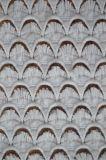 Tela material do laço do poliéster novo da esteira do projeto com teste padrão elegante do bordado