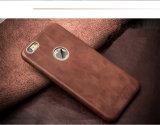 Caja del cuero de la caja del teléfono celular para el iPhone