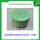 Caixa de presente de papel redonda/caixa de papel da flor caixa de embalagem
