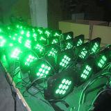 lumière de PARITÉ du DJ DEL d'étape de 9X12W RGBW DMX