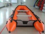 1.2mm PVCボート(アルミニウム床、薄い灰色)
