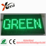 P10 Single Green DIP LED ao ar livre Módulo tela tela de texto