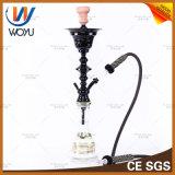 O Narghile de Shisha Chicha do cachimbo de água personaliza o fumo do frasco de vidro