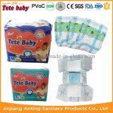 Салфетка дешевого устранимого ворсистого пеленки младенца 2016 санитарная в Китае