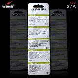 Супер алкалическая батарея 12V 27A при одобренное SGS/Ce/RoHS