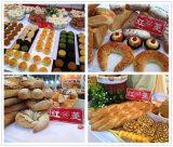 Haltbare gebräuchliche 16 32 64 Tellersegment-Drehzahnstangen-Ofen für Brot