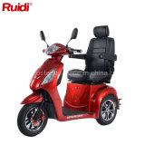 Motorino elettrico di mobilità del triciclo della visualizzazione dell'affissione a cristalli liquidi del motorino della rotella elettrica della bici tre