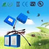 pack batterie rechargeable d'ion de lithium de 1s2p 3.7V (4400mAh) pour le rouleau-masseur