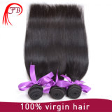 Trama humana brasileña del pelo recto del color natural de Remy