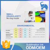 Qualité compatible de la Corée d'encre de sublimation de teinture des prix
