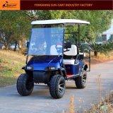 Carro Sightseeing aprovado personalizado Seater do carro de golfe da caça 4 Ce elétrico