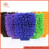 عالة لون [شنيلّ] مربع شكل تنظيف قفّاز