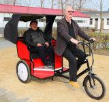 Фабрика поставщика Pedicab трицикла исключительного Bike таксомотора взрослый электрическая