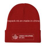 カナダパターンジャカードニットのアクリルのToqueのホッケーの帽子(CPHC-7013X)