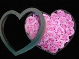 Коробка подарка бумажного цветка формы сердца дня Valentine Sweety